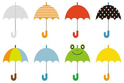 『アイカサ』でレンタルする傘の大きさとかデザインってどういう感じ?