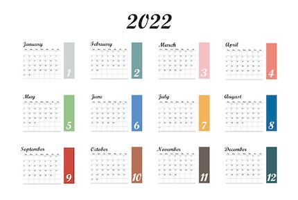 2022年アナウンサーカレンダーに注目!!